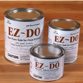 - EZ-DO Gel, 1/2 Pint, 12 per case, Non-Toxic Polyurethane Gel Seals & Protects Wood Surfaces