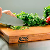 R-Board Collection Cutting Board, 24'' W x 18'' D x 1-1/2'' Thick, Cherry Wood