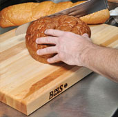 R-Board Collection Cutting Board, 20'' W x 15'' D x 1-1/2'' Thick, Maple Wood