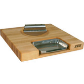 - Newton Prep Master II Cutting Board w/Double Bladed Knife
