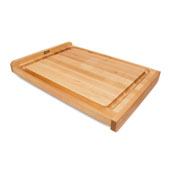 KNEB Reversible Countertop Cutting Board with Gravy Groove, 17-3/4'' W x 23-3/4'' D