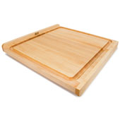 KNEB Reversible Countertop Cutting Board with Gravy Groove, 23-3/4'' W x 23-3/4'' D