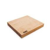 Northern Hard Rock Maple Rustic-Edge Design Reversible Cutting Board, 13''W x 12''D x 1-3/4''H