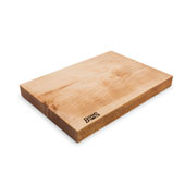 Northern Hard Rock Maple Rustic-Edge Design Reversible Cutting Board, 17''W x 12''D x 1-3/4''H