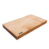 Northern Hard Rock Maple Rustic-Edge Design Reversible Cutting Board, 21''W x 12''D x 1-3/4''H