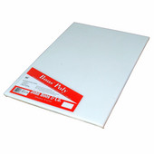 Poly 1000 Reversible NSF Cutting Board, 17'' L x 10'' x 1/2'' Thick with Hand Slot, Pure White