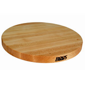 R-Board Collection Reversible 18'' Diameter x 1-1/2'' Thick, Maple Edge Grain, Sold Individually or in a Set