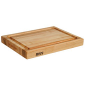 Professional Collection Cutting Board 20'' L x 15'' W x 2-1/4'' H, Maple Edge Grain Butcher Block