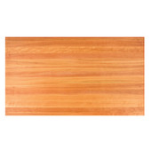 Cherry Butcher Block Table Top, Rectangular, 1/4'' or Double Radius Edge, 36''D, Numerous Sizes Available