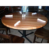 Maple Edge Grain Table Top, Round, 1/4'' or Double Radius Edge, Different Sizes Available