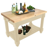 Tuscan Isle Boos Block, 54'' or 72'' W x 32'' D x 36''H, Natural