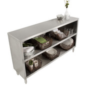 Urban Industrial Buffet Cabinet, Stainless Steel, 18 Gauge, Different Sizes Available