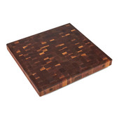 Premium 3'' Thick American Black Walnut End Grain Butcher Block Island Countertop 36'' W x 30'' D, Boos Block Cream Finish w/ Beeswax