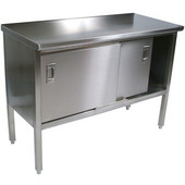 Cucina Marcella SS Work Table, Numerous Sizes Available