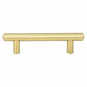 Key West Collection 5-3/4'' W Steel Cabinet Bar Pull In Brushed Gold