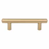 Key West Collection 5-3/4'' W Steel Cabinet Bar Pull In Satin Bronze