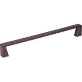 8-1/16'' Width Boswell Cabinet Pull in Brushed Oil Rubbed Bronze, Center to Center: 192mm (7-9/16'')