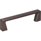 4-1/4'' Width Boswell Cabinet Pull in Brushed Oil Rubbed Bronze, Center to Center: 96mm (3-3/4'')