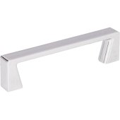4-1/4'' Width Boswell Cabinet Pull in Polished Chrome, Center to Center: 96mm (3-3/4'')