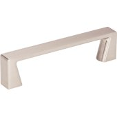 4-1/4'' Width Boswell Cabinet Pull in Satin Nickel, Center to Center: 96mm (3-3/4'')