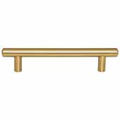 Key West Collection 7'' W Steel Cabinet Bar Pull In Satin Bronze