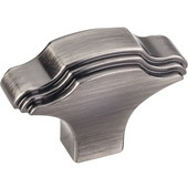 Maybeck Collection 1-1/16'' W Cabinet Knob in Brushed Pewter