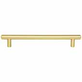 Key West Collection 9-1/2'' W Steel Cabinet Bar Pull In Brushed Gold