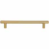 Key West Collection 9-1/2'' W Steel Cabinet Bar Pull In Satin Bronze