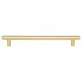 Key West Collection 10-13/16'' W Steel Cabinet Bar Pull In Brushed Gold