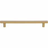 Key West Collection 10-13/16'' W Steel Cabinet Bar Pull In Satin Bronze