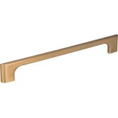 8-15/16'' Width Leyton Cabinet Pull in Satin Bronze, Center to Center: 192mm (7-9/16'')