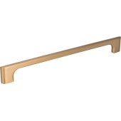 10-3/16'' Width Leyton Cabinet Pull in Satin Bronze, Center to Center: 224mm (8-7/8'')