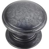 Durham Collection 1-1/4'' Diameter Round Cabinet Knob in Gun Metal