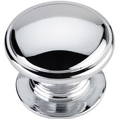 Durham Collection 1-1/4'' Diameter Round Cabinet Knob in Polished Chrome