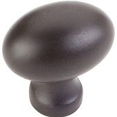 Bordeaux Collection 1-3/16'' W Football Cabinet Knob in Dark Bronze