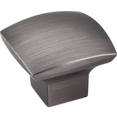 Sonoma Collection 1-3/16'' W Smooth Cabinet Knob in Brushed Pewter