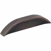 Elara Collection 4-9/16''W Cabinet Pull In Brushed Oil Rubbed Bronze