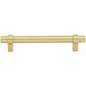 Key Grande Collection 6-5/8'' W Bar Cabinet Pull In Brushed Gold