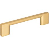 4-3/4'' Width Sutton Cabinet Pull in Brushed Gold, Center to Center: 96mm (3-3/4'')