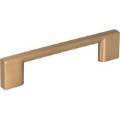 4-3/4'' Width Sutton Cabinet Pull in Satin Bronze, Center to Center: 96mm (3-3/4'')