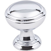 Tiffany Collection 1-1/4'' Diameter Decorative Cabinet Knob in Polished Chrome