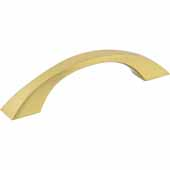 Philip Collection 5'' W Cabinet Pull, Center to Center 96 mm (3-3/4''), Brushed Gold
