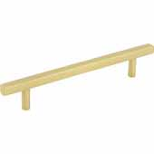Dominique Collection 7-1/16'' W Cabinet Pull, Center to Center 128 mm (5''), Brushed Gold