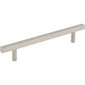 Dominique Collection 7-1/16'' W Cabinet Pull, Center to Center 128 mm (5''), Satin Nickel