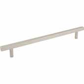 Dominique Collection 15'' W Appliance Pull, Center to Center 12'', Satin Nickel