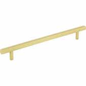 Dominique Collection 9-9/16'' W Cabinet Pull, Center to Center 192 mm (7-1/2''), Brushed Gold