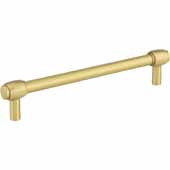 Hayworth Center-to-Center Cabinet Bar Pull in Brushed Gold, 6-1/4'' W