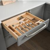 20-7/8''W Drawer Organizer Insert Cutlery Tray