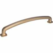 Belcastel 1 Collection 13-1/4'' W Forged Look Flat Bottom Appliance Pull In Satin Bronze