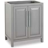 Cade Contempo Vanity, Base Only, Grey, 29-11/16''W x 21-1/2''D x 35-3/16''H